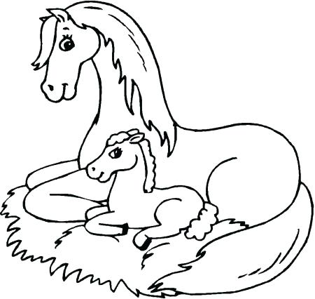 450x426 Free Printable Horse Coloring Pages For Adults Horse Printable