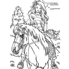 Pretty Horse Coloring Pages At Getdrawings Com Free For Personal