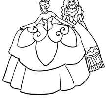 220x220 Beautiful Princess Coloring Pages