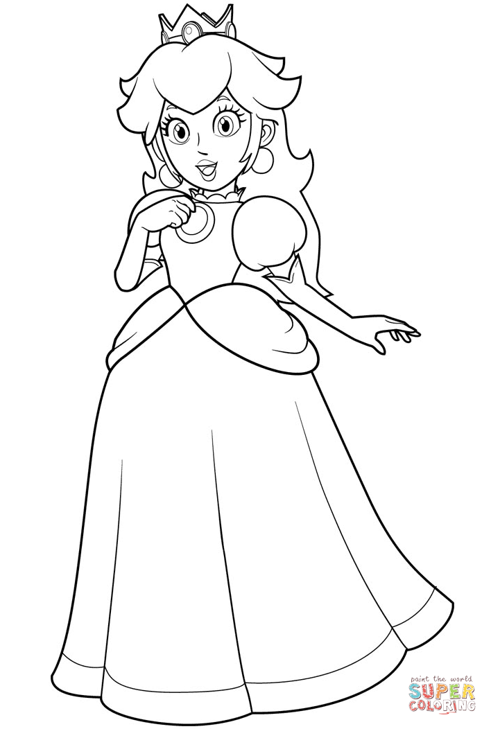 708x1052 Pretty Princess Coloring Pages