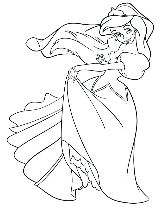 670x860 Pretty Princess Coloring Pages Easy Coloring Pages Pretty Coloring