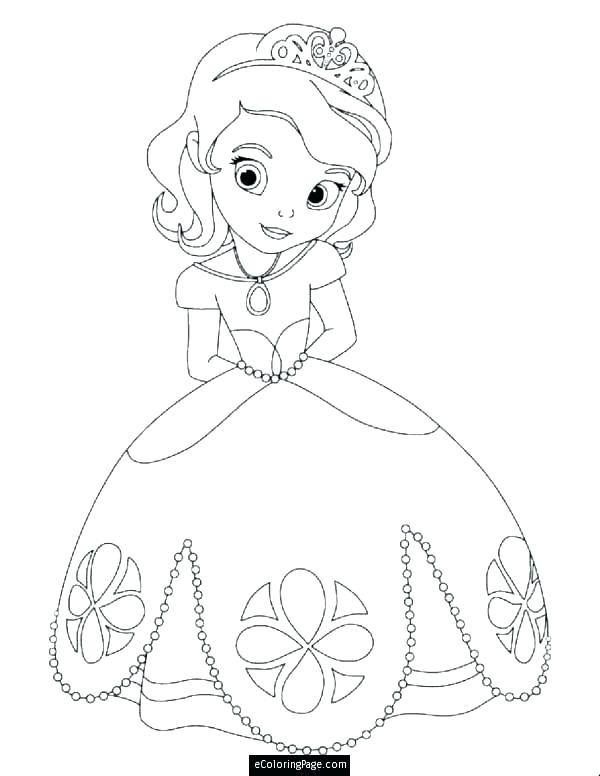 600x776 Pretty Princess Coloring Pages Princess Coloring Pages For Kids