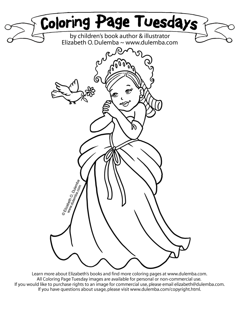 773x1000 Dulemba Coloring Page Tuesday