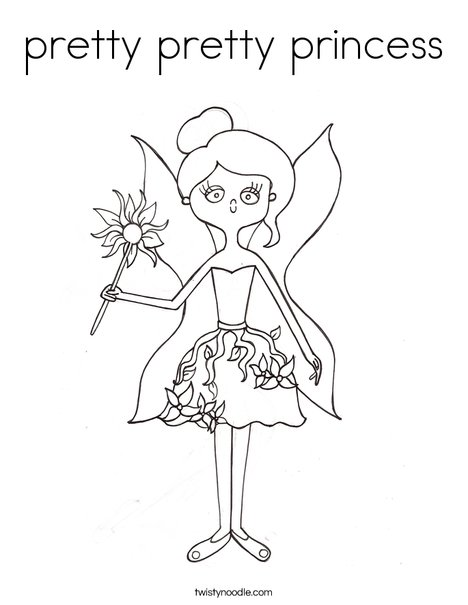 468x605 Pretty Pretty Princess Coloring Page