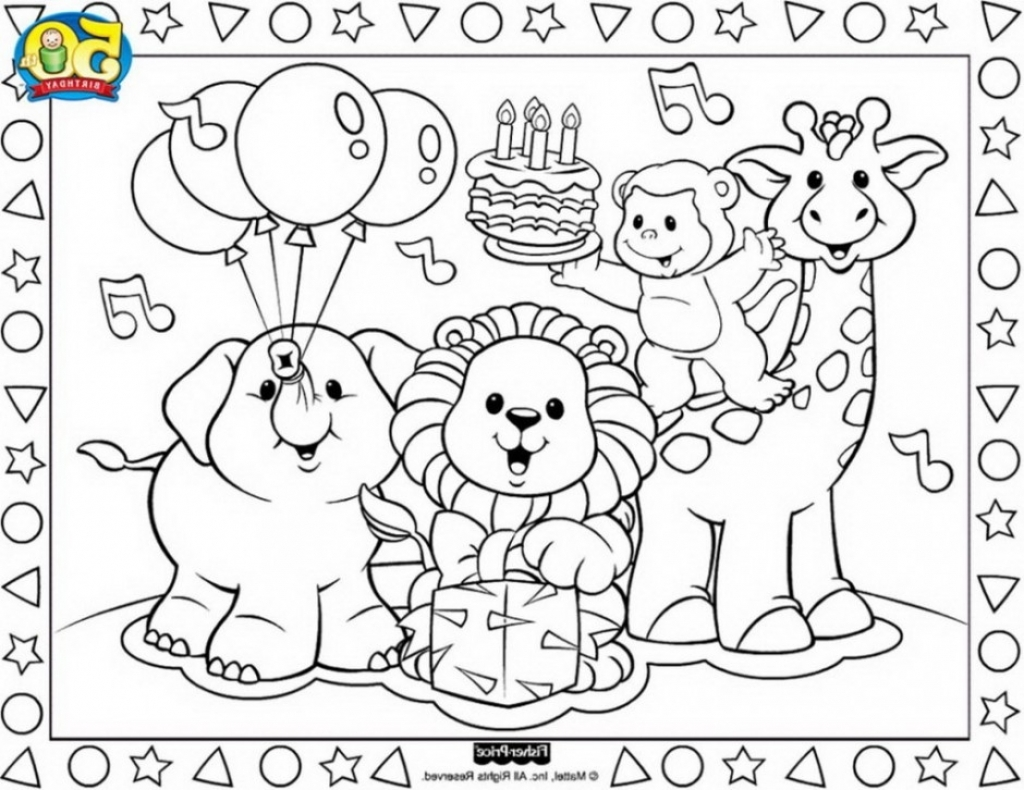 1024x790 Fisher Price Coloring Pages