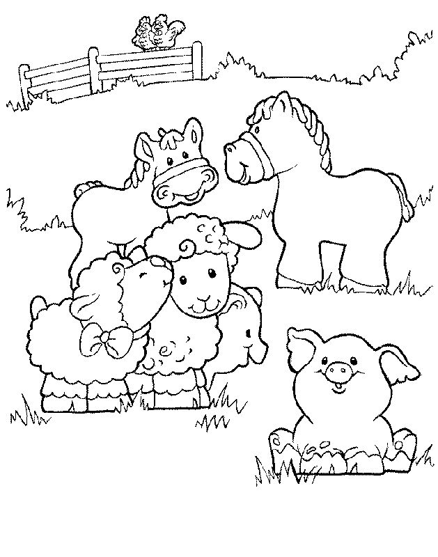 629x800 Best Little People Images On Coloring Books