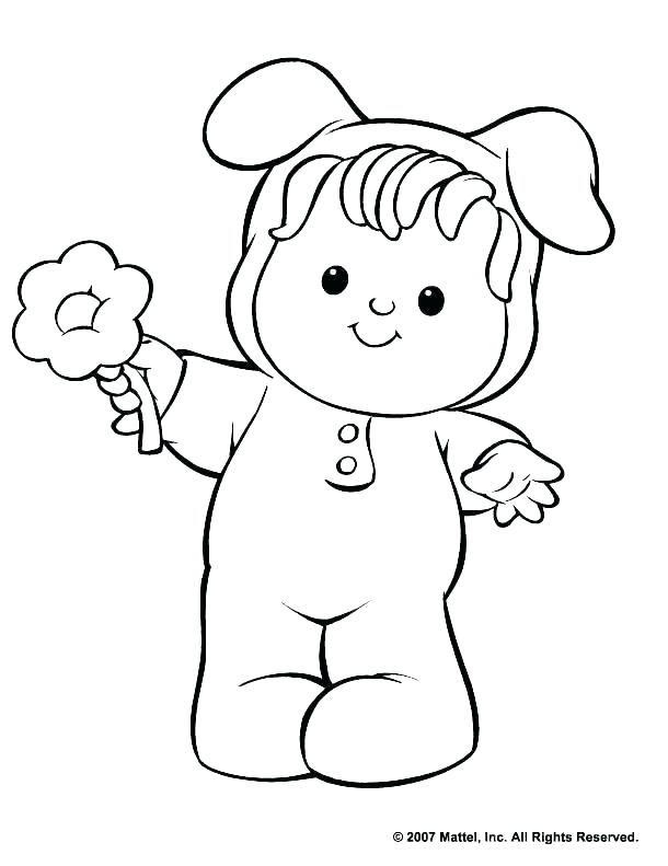 610x791 Fisher Price Coloring Pages
