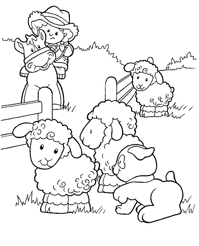 680x840 Best Fisher Price Coloring Pages Images On Fisher