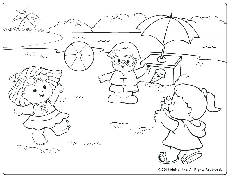 792x612 Tie Dye Coloring Pages Coloring Page For Kids At The Beach
