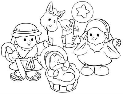 400x308 Coloring Picture Cartoon Kids Fisher Price Coloring Pages