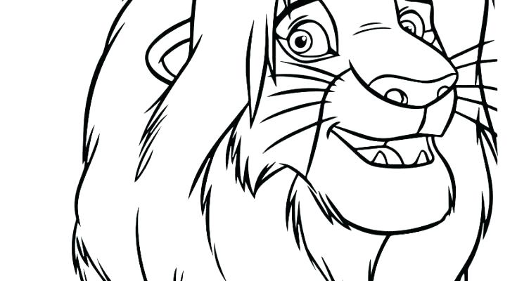 735x400 Lion King Coloring Page Lion King Coloring Pages The Lion King