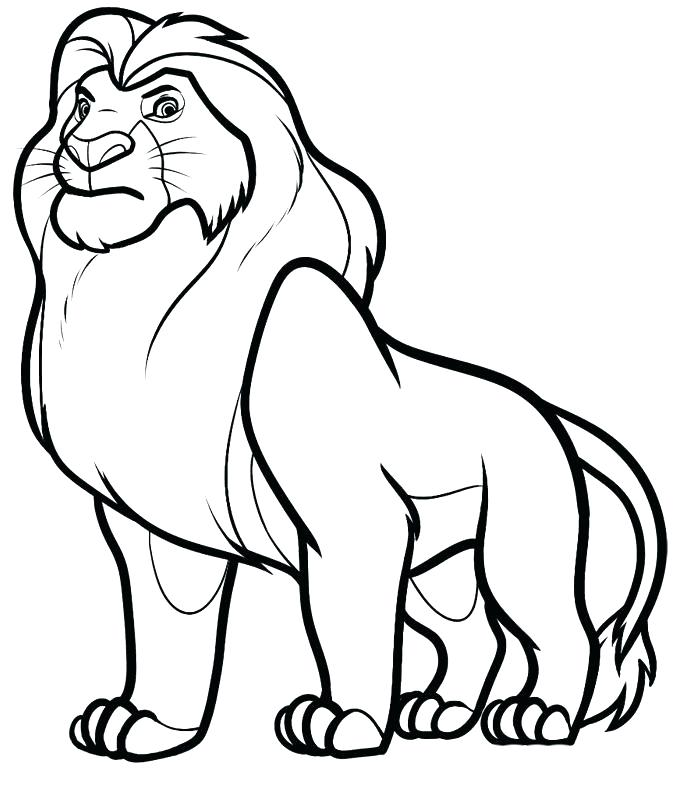 680x791 Nala Coloring Pages Minimalist Coloring Pages Print S Pride Lion