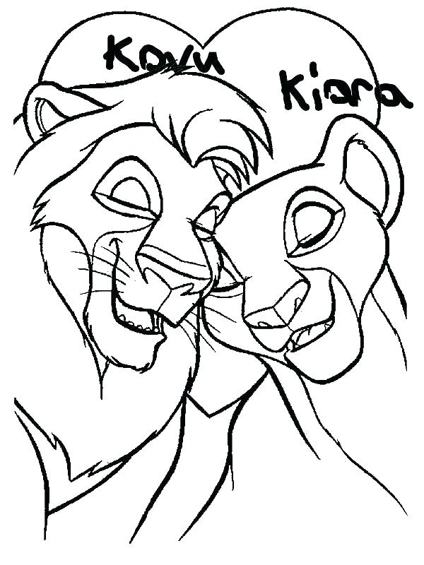 600x800 Simba Coloring Pages