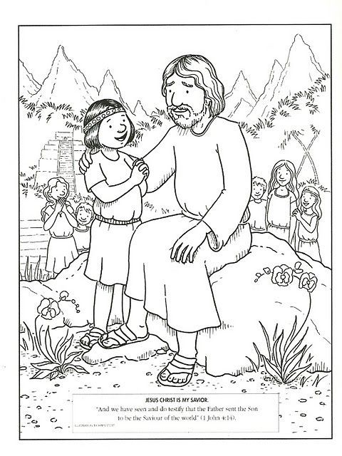 480x640 Lds Primary Coloring Pages