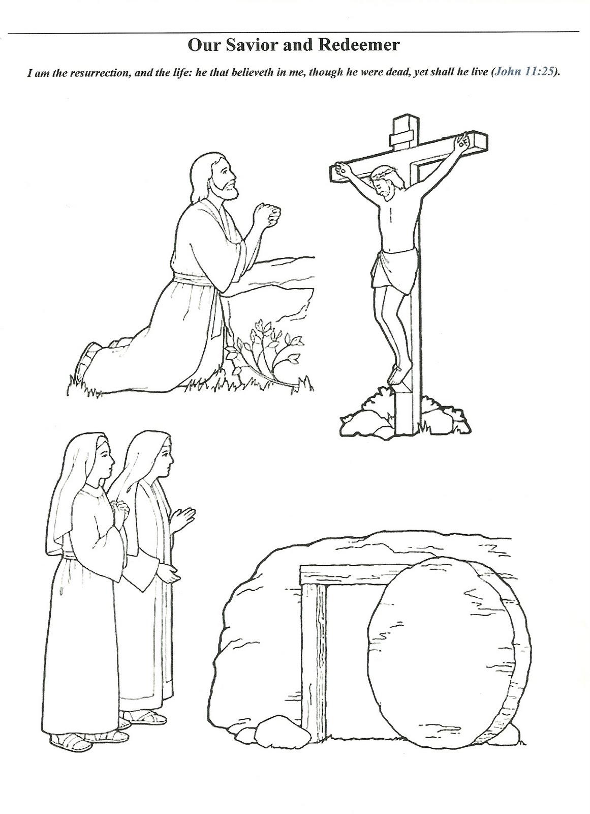 1161x1600 Lds Primary Coloring Pages