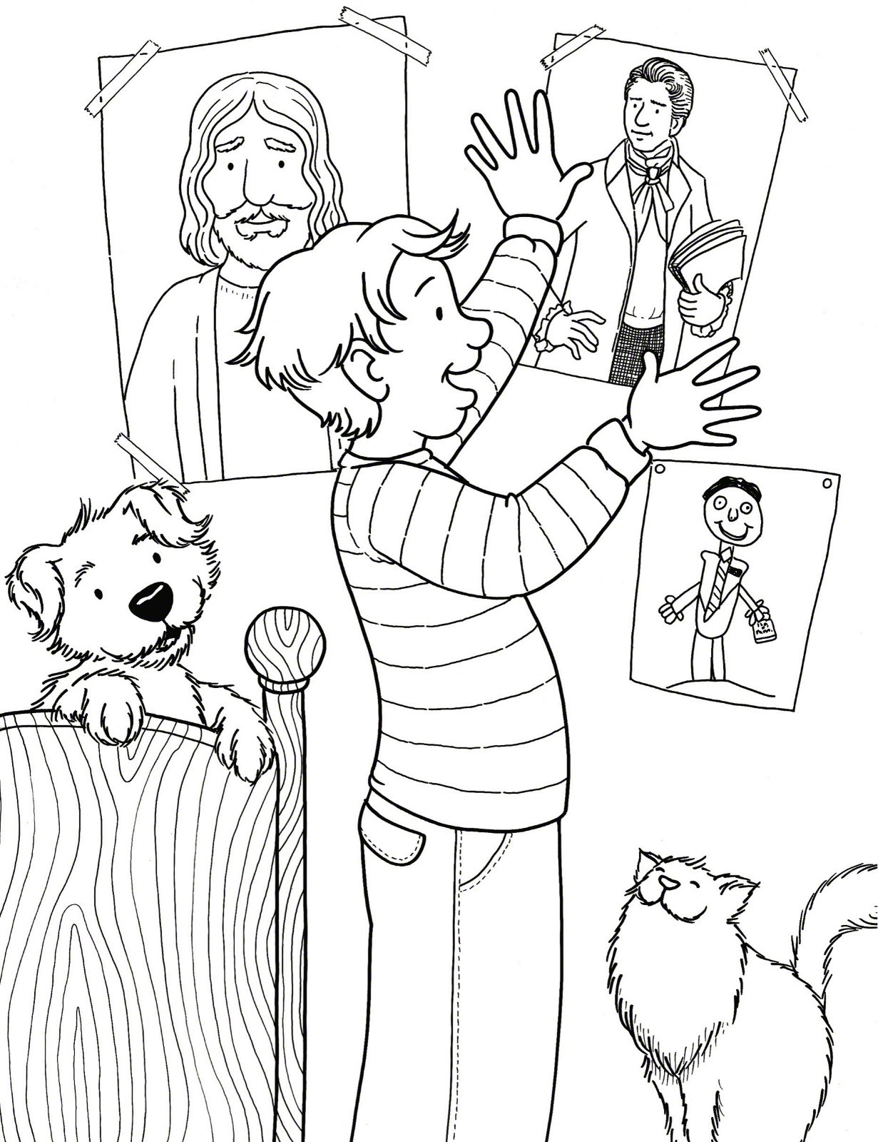 1231x1600 Primary Coloring Pages Acpra
