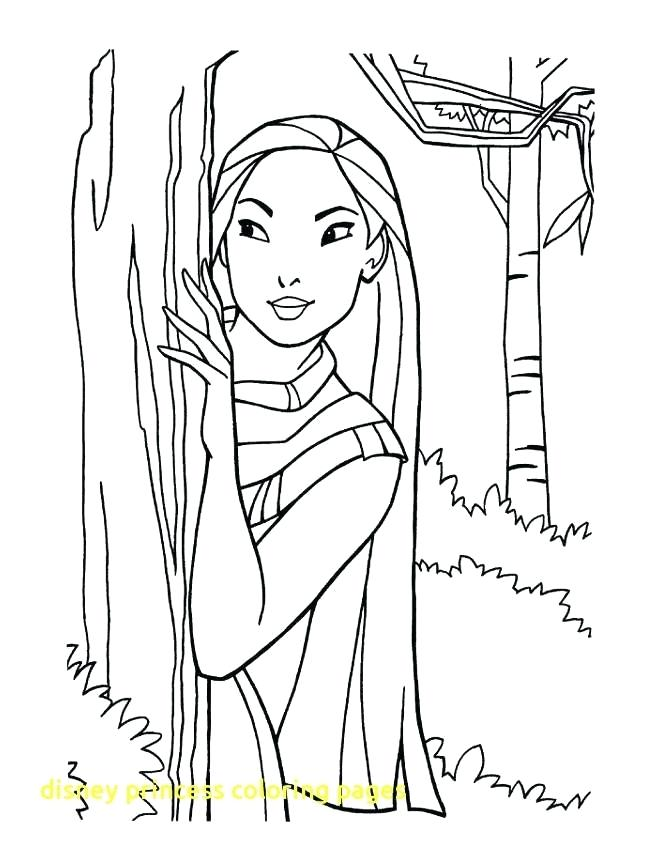Prince And Princess Coloring Pages