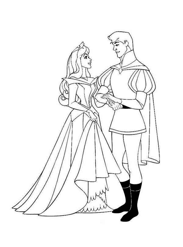 600x810 Princess Aurora And Prince Phillip Sing And Dance Together