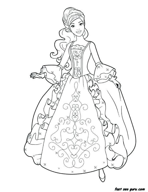 618x800 Princess Coloring Pages Kids Free Printable Coloring Pages