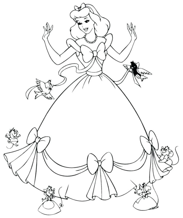 734x875 Princess Colouring Books Princess Coloring Books As Well As