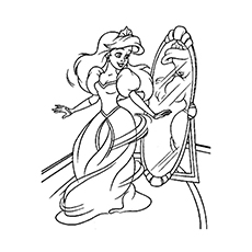 230x230 Top Free Printable Princess Coloring Pages Online