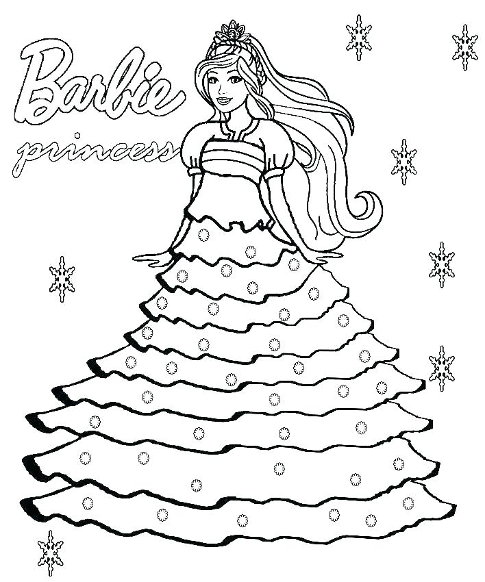 708x850 Barbie Mermaid Colouring Games Tale Coloring Pages