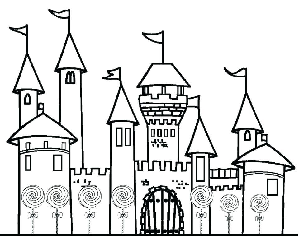 960x778 Castle Coloring Pages Castle Coloring Pages Printable Castle