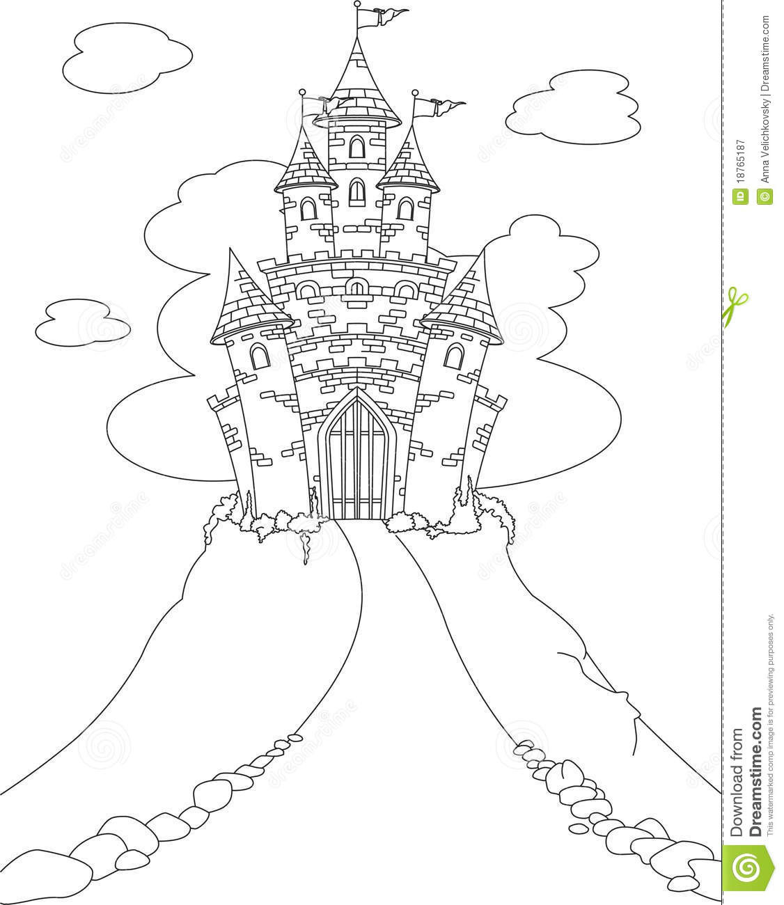 1126x1300 Princess Castle Coloring Pages Wagashiya