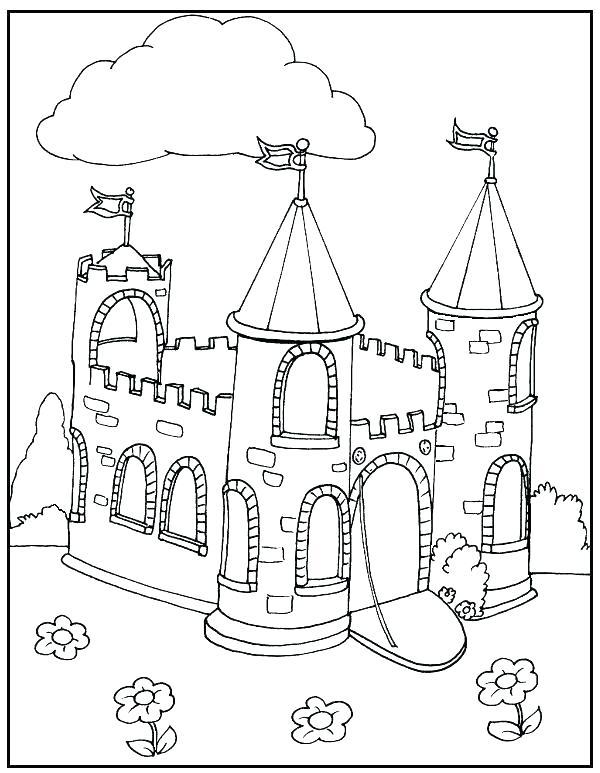 600x773 Colouring Pages Lego Castle Printable Coloring Princess Castle
