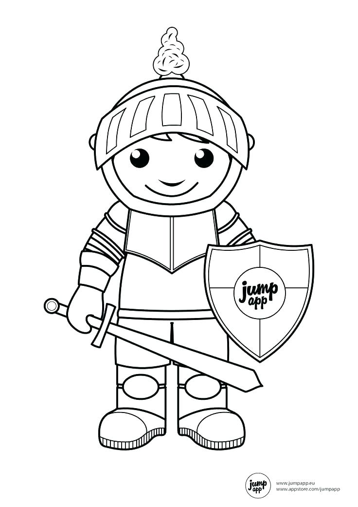 736x1041 Coloring Pages Of Knights