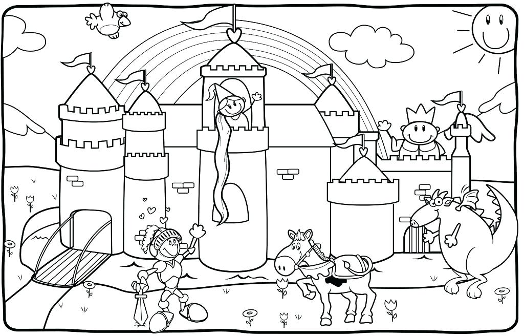 1024x656 Knight Coloring Pages Free Coloring Coloring Pages Castles Knights
