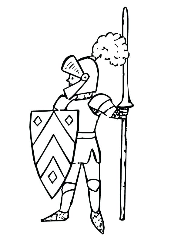 630x810 Knight Coloring Pages Knight Coloring Pictures Printable Knight