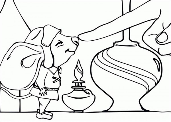 The Tale of Despereaux Coloring Pages: 2008 | 429x600