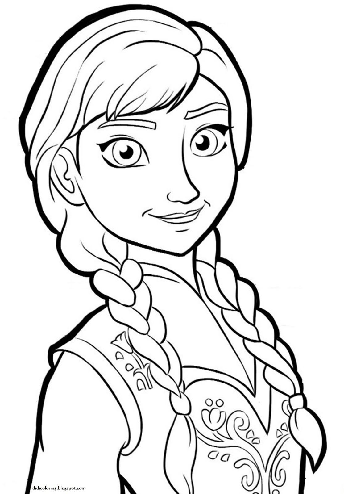 1115x1600 Unique Princess Anna Coloring Pages Gallery Printable Coloring Sheet