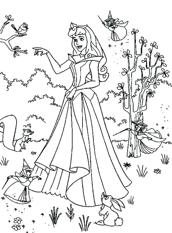 600x815 Aurora Coloring Princess Aurora Coloring Pages Fantasy Coloring