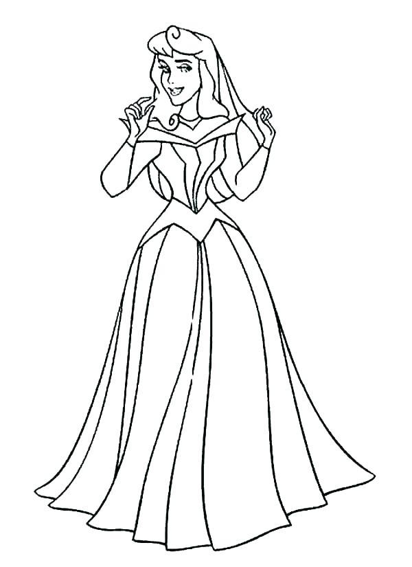 600x825 Aurora Coloring Pages Aurora Coloring Page Princess Aurora