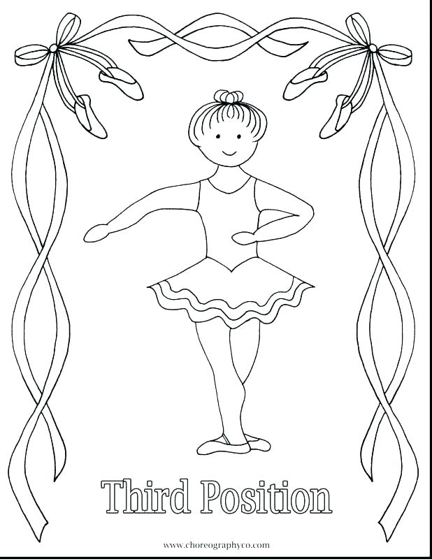 618x800 Beautiful Ballerina Shoes Coloring Pages Bulk Color Beautiful