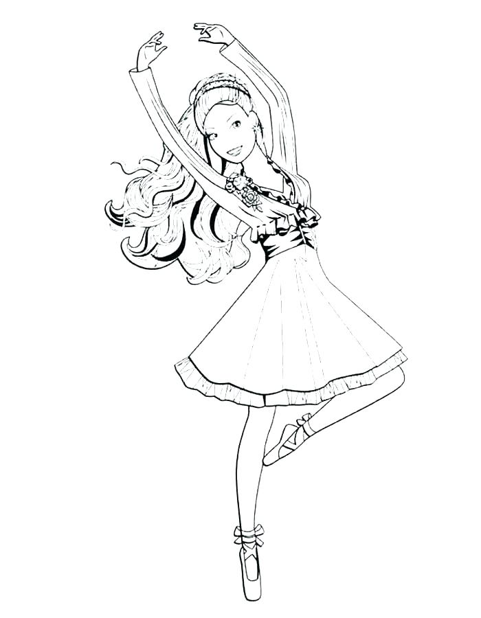 700x900 Ballerina Color Pages S S Cute Ballerina Coloring Pages