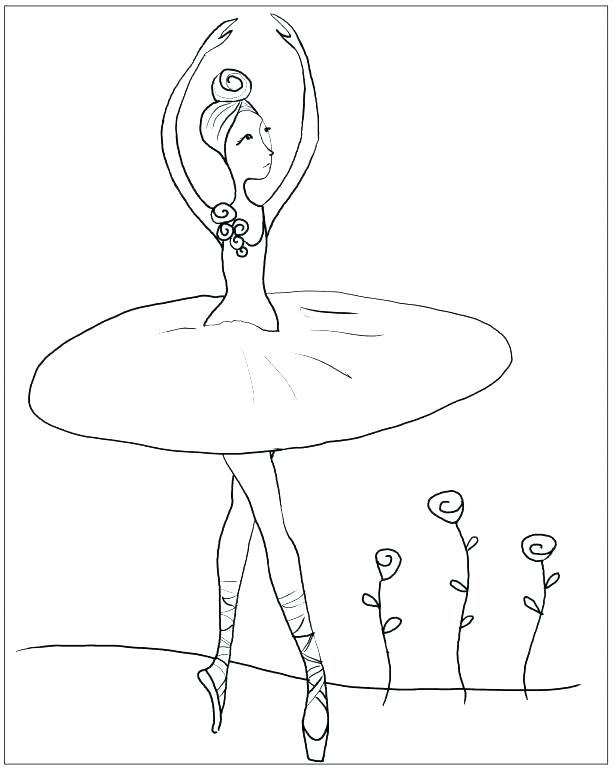 615x770 Ballerina Coloring Pages Ballerina Coloring Pages Free Coloring