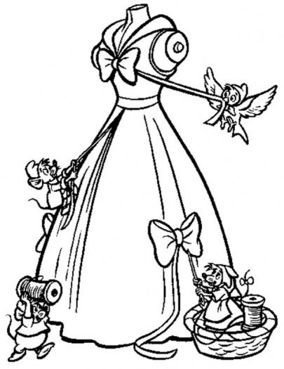 405x525 Cinderella Carriage Coloring Page