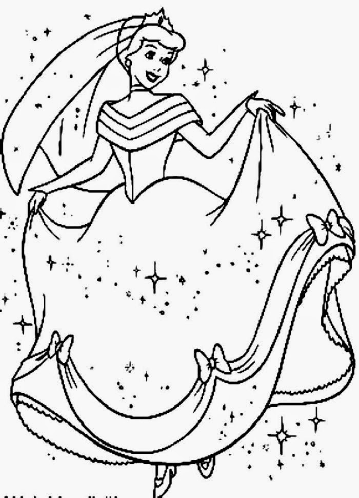 700x969 Cinderella Coloring Pages Free, Free Coloring Pages Of Drawings