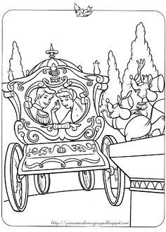 236x330 Coloring Page, Activity Page, Cinderella Disney Coloring Pages