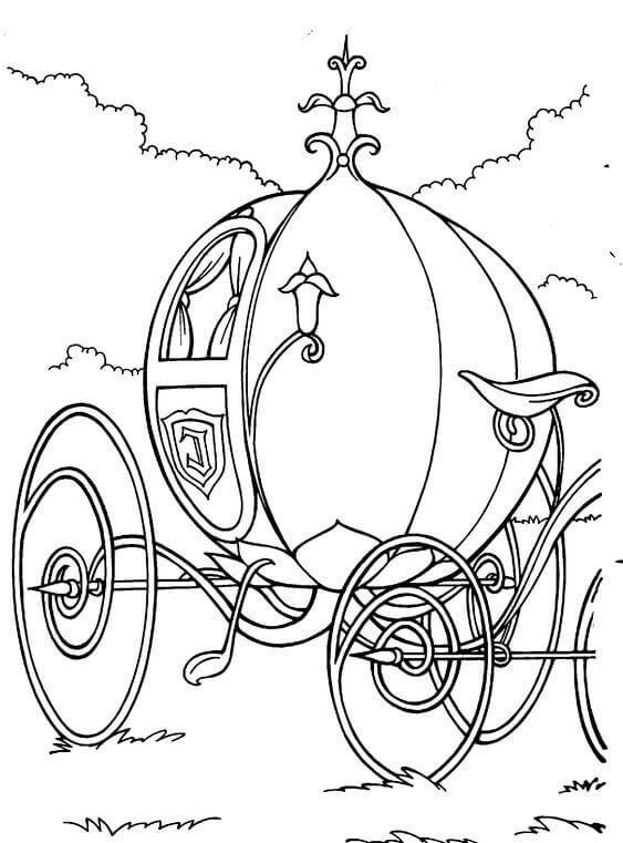 563x761 Free Printable Cinderella Coloring Pages