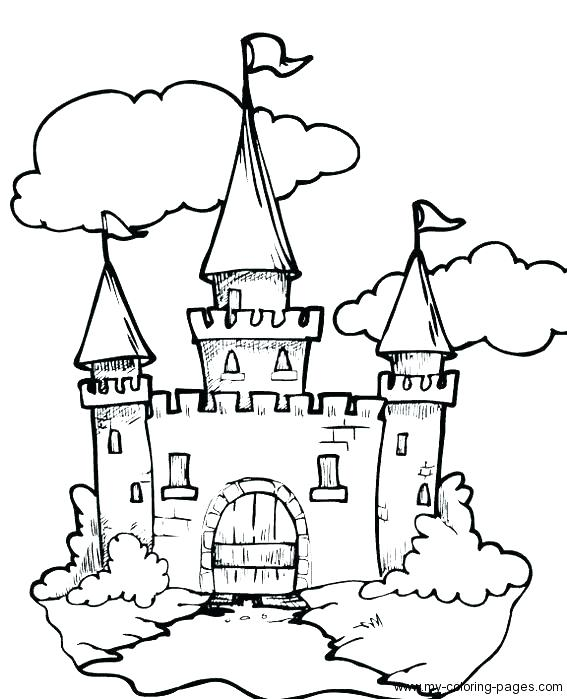567x699 Castle Coloring Page Fairy Tale Coloring Page Fairy Tale Coloring