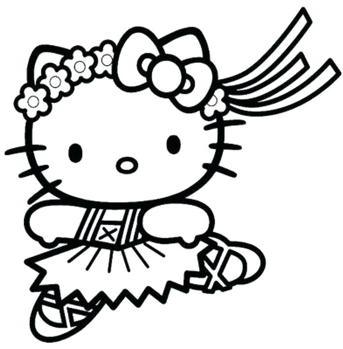 696x708 Hello Kitty Coloring Page Printable Hello Kitty Coloring Pages