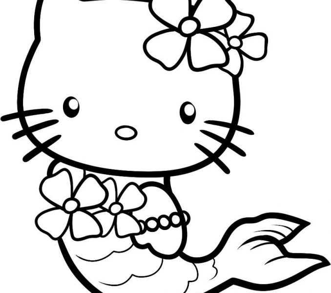 678x600 Princess Cat Coloring Pages Free Coloring Page