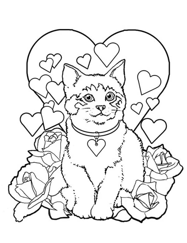 600x781 Princess Cat Coloring Pages Gallery Free Coloring Sheets