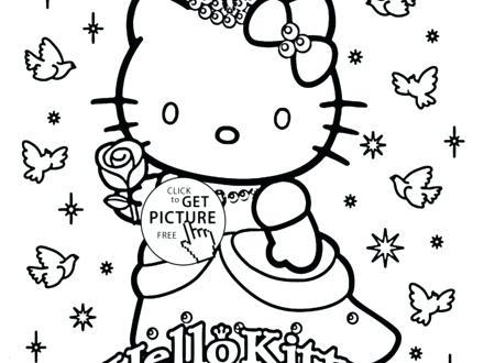 440x330 Princess Cat Coloring Pages