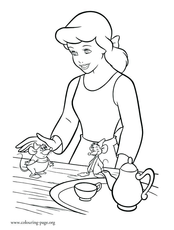 700x922 Cinderella Coloring Pages Princess Coloring Pages Cinderella