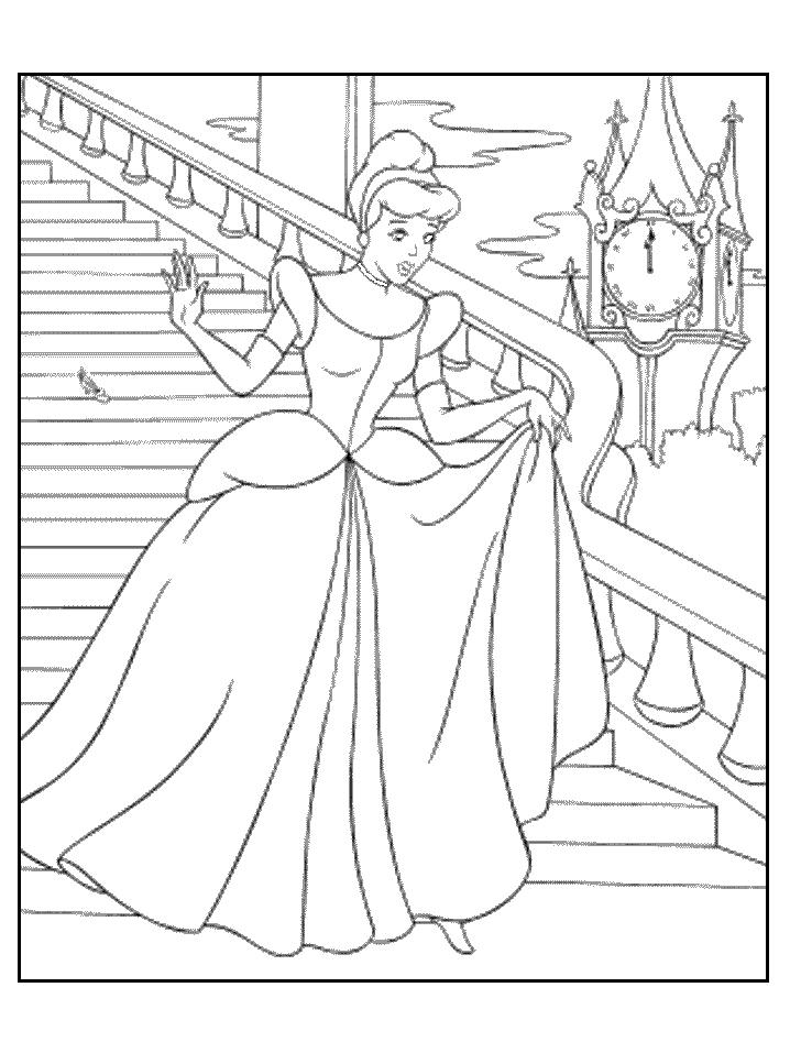 718x957 Cinderella Coloring Pages Best Of Princess Cinderella Coloring